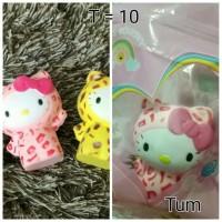 Jual squishy Hello Kitty Leopard + plastik Murah