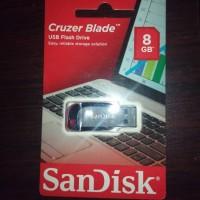 Jual SanDisk Cruzer Blade USB Flash Drive FlashDisk FlashDrive 8GB 8 GB Murah