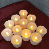 Jual lilin elektrik putih Murah