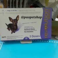 Jual Revolution Purple Obat Kutu for Adult Small Dog ( 2-5 kg) (satuan) Murah