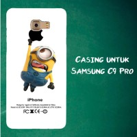 Jual Casing Untuk Samsung C9 Pro Despicable Me Minion Catch Apple Custom Ha Murah