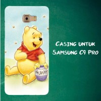 Jual Casing Untuk Samsung C9 Pro winnie pooh Custom Hard Case Cover Murah