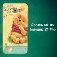 Jual Casing Untuk Samsung C9 Pro sweet winnie the pooh Custom Hard Case Cov Murah