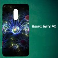 Jual Casing Untuk Redmi Note 4X Abstract flower Custom Hard Case Cover Murah