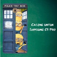 Jual Casing Untuk Samsung C9 Pro Despicable Me Minion Spiderman 2 Custom Ha Murah