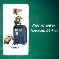 Jual Casing Untuk Samsung C9 Pro Despicable Me Minion Catch Apple 2 Custom  Murah