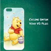 Jual Casing Untuk Vivo V5 Plus winnie pooh Custom Hard Case Cover Murah