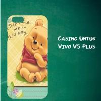 Jual Casing Untuk Vivo V5 Plus sweet winnie the pooh Custom Hard Case Cover Murah