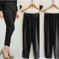 Jual HV9074 Pants Beti Black SW celana wanita wolly crepe KODE BIS9128 Murah
