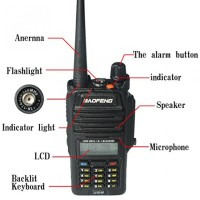 Radio Walkie HT BAOFENG POFUNG UHF VHF Waterproof IP67 UV-5R WP