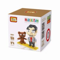 Jual AD4874 Lego Loz Nano Block MrBean KODE Gute4740 Murah