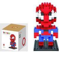 Jual AD4878 Loz Lego Nano Block Spiderman KODE Gute4744 Murah