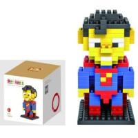 Jual AD4877 Loz Lego Nano Block Superman KODE Gute4743 Murah