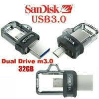 Jual Flashdisk OTG Sandisk Ultra Dual USB 3.0 32GB ORIGinal Murah