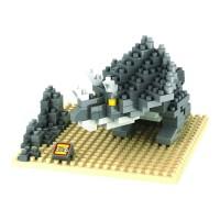 Jual AD4016 Loz Lego Nano Block Ceratopsian KODE Gute3882 Murah