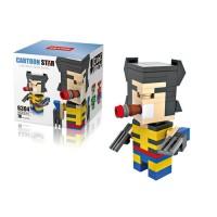 Jual AD4021 Lego Hsanhe Cube Wolverine KODE Gute3887 Murah