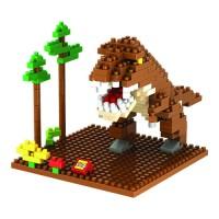 Jual AD4015 Loz Lego Nano Block Tyrannosaurus KODE Gute3881 Murah
