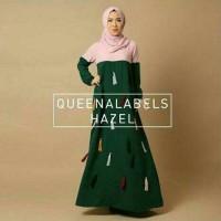 Jual KP4272 Hazel crepe ronce green Hijab 0124 KODE TYR4328 Murah