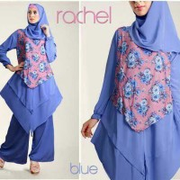 Jual KP4250 Rachel crepe blue Hijab 0124 KODE TYR4306 Murah