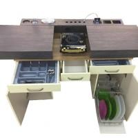 Jual VISSERA Multifunction Table (meja kerja, meja makan, kitchen set) Murah