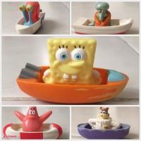 Jual Figurine Spongebob and Friends di perahu ( 1 SET ) Murah