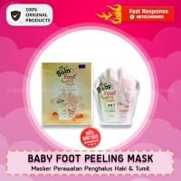 Jual BABY FOOT PEELING MASK - Masker Penghalus Kaki & Tumit - Original Murah