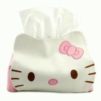 Jual new Kotak Tissue Hello Kitty Murah