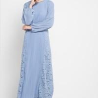 Pakaian Wanita: Kamilaa by Itang Yunasz Lace Gamis Baju Muslim Dress