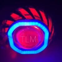 Jual Lampu LED CREE Projie Tornado Nanas Kotak Motor Mobil Murah