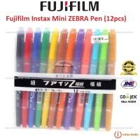 Fujifilm Instax Mini Zebra Pen Kamera Polaroid Pena Instax Zebra