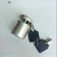 Jual Kunci Gembok Cakram Motor Bulat CNC Berkualitas Murah