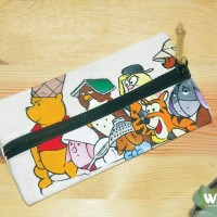Jual Tempat Pensil Winie The Pooh & Friend Murah