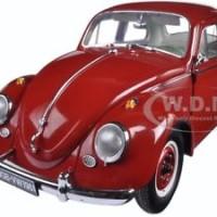 Jual Diecast _1961 VOLKSWAGEN BEETLE SALOON RUBY RED 1/12 DIECAST MODEL CAR Murah