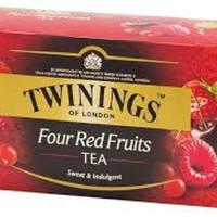 twinings four red fruits tea teh twinings