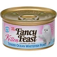 Jual Fancy Feast Kitten Ocean Whitefish 85gr Cat Food Makanan Kitten Kucing Murah