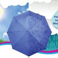 Jual Payung Magic 3D muncul motif jika basah bonus sarung payung Murah