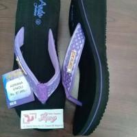 Jual sandal jepit ando wedges adriana Murah
