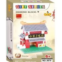 Jual 01 - Nano Block QCF 9879 Chinese Food Murah