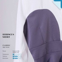 Jual HISBICUS SHIRT peplum kemeja baju kerja blouse atasan wanita murah Murah