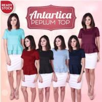 Jual ANTARTICA PEPLUM TOP blouse baju kerja atasan wanita murah Murah