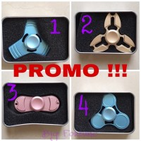 Jual Premium Fidget Spinner Metal 3 Side Circle / Hand Spinner Toys Murah
