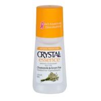 Jual Chamomile & Green Tea - CRYSTAL Body Deodorant Essence Roll 65 ml Murah