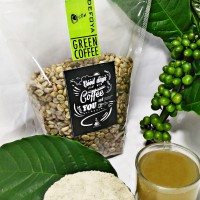 Jual Kopi Pelangsing / Bahan Mentah Robusta Green Coffee 1kg Murah