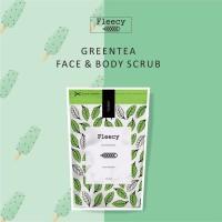 Jual new FLEECY GREEN TEA BODY SCRUB ORIGINAL Murah