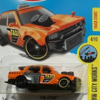 HOTWHEELS NEED FOR SPEED NO LIMITS - TIME ATTAXI 2017 ORANGE