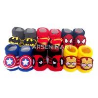 Harga sepatu kaos kaki bayi motif avenger kapten amerika spiderman | antitipu.com
