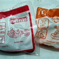 Ninja Turtles - WinX Club Happy Meal McDonald Toys Mainan Segel