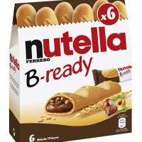 Jual Snack Wafer Coklat Kacang - Nutella B-ready Murah