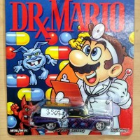 HOT WHEELS 8 CRATE DELIVERY OFFICIAL NINTENDO DR MARIO 2015 #1/6