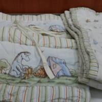 Jual Set Selimut bayi dan Bumper tempat tidur Elegance Classic Pooh Murah